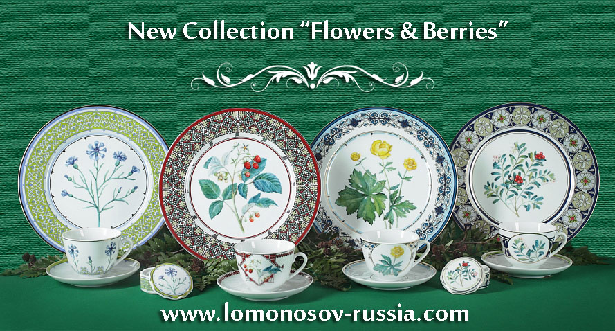 Welcome to the World of Lomonosov Porcelain! & Lomonosov Russia - Factory Direct from Russia |