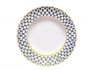 Lomonosov Soup Plate Cobalt Net 8.7