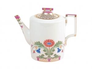 Lomonosov Imperial Porcelain Teapot Moscow River 20.3 fl.oz/600 ml