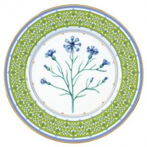 Decorative Wall Plate Blue Cornflower 10.6