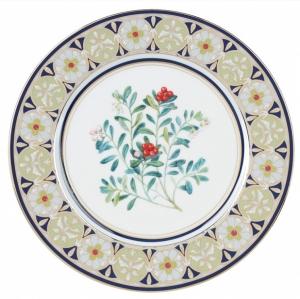 Decorative Wall Plate Foxberry Lomonosov Imperial Porcelain