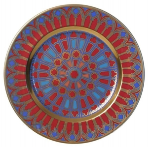 Decorative Wall Plate Mazarin Gothic #5 10.4