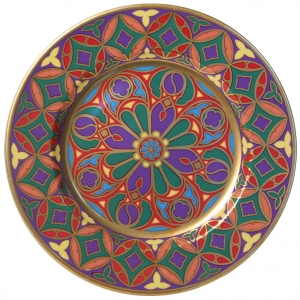 Decorative Wall Plate Mazarin Gothic #9 10.4