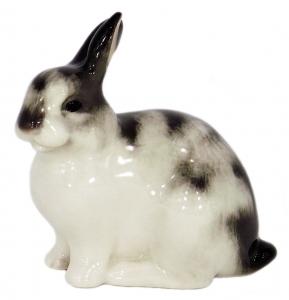 Easter Bunny Rabbit Lomonosov Imperial Porcelain Figurine