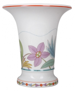 Flower Vase Empire Style Breeze Lomonosov Imperial Porcelain