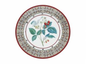 Lomonosov Porcelain Decorative Wall Plate Sweet Raspberry 10.6