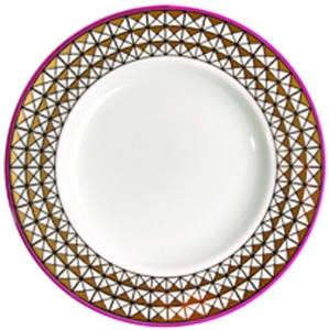 Lomonosov Imperial Porcelain Desert Plate Moscow River Smooth 7.1