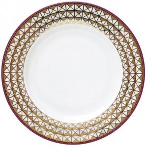 Lomonosov Imperial Porcelain Dessert Plate Mowcow River 6.2