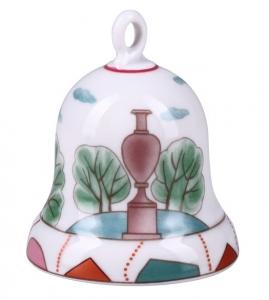 Lomonosov Imperial Porcelain Dinner Bell Summer Palace