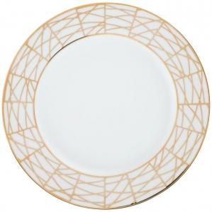 Lomonosov Porcelain Dinner Plate Frosty Fairytale 9.8