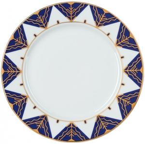 Lomonosov Imperial Porcelain Dinner Plate Kalevala 8.5 inches 215 mm