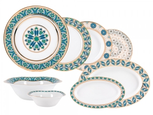 Lomonosov Porcelain Dinner Set Gothic