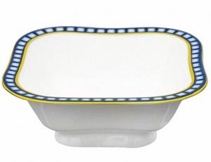 Lomonosov Imperial Lomonosov Porcelain Cobalt Cell Salad Bowl (1 serv.) 5.75 oz / 170 ml