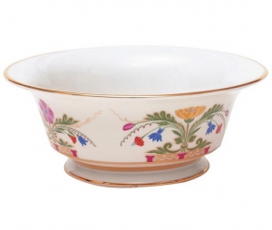 Lomonosov Imperial Porcelain Salad Bowl Moscow River (1 serv.) 9.1 fl.oz/270 ml