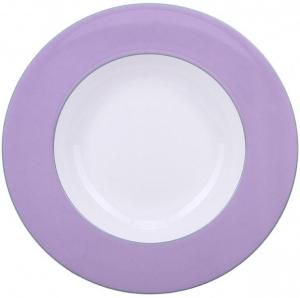 Lomonosov Imperial Porcelain Soup Plate Tea Symphony 9.3