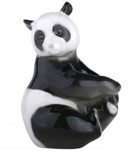 Panda Bear Bamboo Lomonosov Imperial Porcelain Figurine
