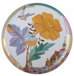 Decorative Wall Plate Hot Summer 10.8