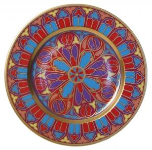 Decorative Wall Plate Mazarin Gothic #12 10.4