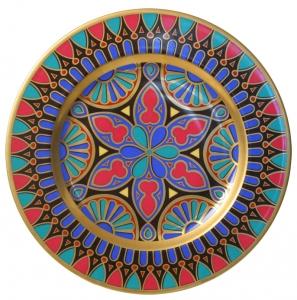 Decorative Wall Plate Mazarin Gothic #4 10.4