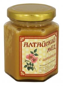 Eco Organic Natural Russian Siberian Honey with Dog Rose