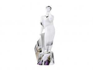 Russian Porcelain Gorgeous WHITE NIGHT Porcelain