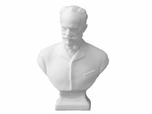 Collectible Figurine Sculpture Russian Сomposer Petr Chaikovskiy