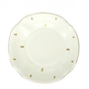 Lomonosov Porcelain Bone China Porcelain Jam Dish Natasha Eyelets D 4