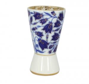 Lomonosov Porcelain Porcelain Napkin Holder Youth Blue Bells
