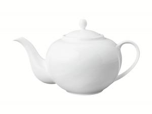 Lomonosov Porcelain Tea Pot Variation White 20.3 fl.oz/600 ml