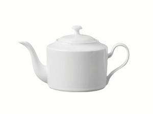 Lomonosov Porcelain Tea Pot Premium White 40.6 fl.oz/1200 ml