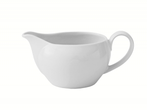 Lomonosov Porcelain Creamer Milk Jar Autumn Fall White 11.8 fl.oz/350 ml