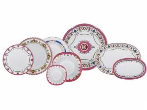 Lomonosov Imperial Porcelain Tableware Dinner Set Cameo 24 pc