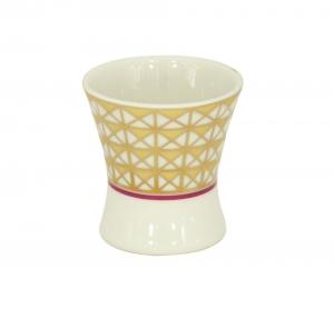 Porcelain Net Egg Holder Cup Moscow River