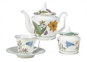 Bone China Porcelain Tea Set Service 6/14 Yulia June