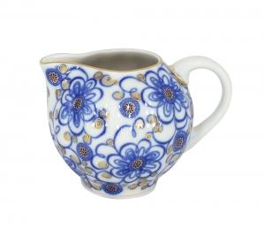 Lomonosov Imperial Porcelain Creamer Bindweed 11.8 oz/350 ml