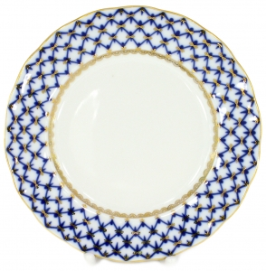Flat Plate Tulip Cobalt Net 8.1