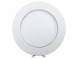 Lomonosov Porcelain Dinner Plate European-2 Platinum Omega Net 8.5