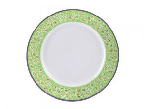 Lomonosov Porcelain Dinner Plate European-2 Coloreful Easter 10.6