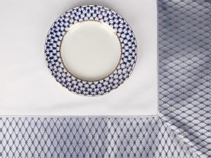 Imperial Porcelain Lomonosov Tablecloth Cobalt Net 70