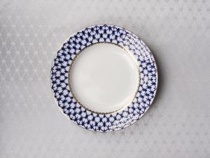 Lomonosov Tablecloth Cobalt Net 57