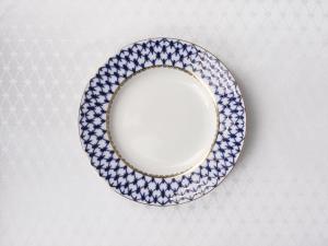 Lomonosov Porcelain Lomonosov Tablecloth Cobalt Net 57