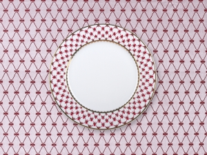 Lomonosov Tablecloth Red Net 57