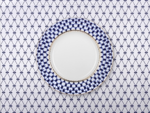 Lomonosov Tablecloth Cobalt Net 57