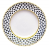 "Imperial Porcelain Flat Plate Smooth Cobalt Net 10.6""/270 mm"
