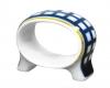 Lomonosov Imperial Porcelain Napkin Ring Youth Quattro Cobalt Cell