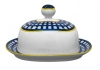 Lomonosov Imperial Porcelain Butter Holder Dish Quattro Cobalt Cell