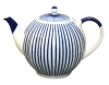 Lomonosov Imperial Porcelain Porcelain Teapot Tulip Frenchman 3 Cups 20 oz/600 ml