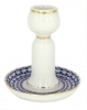 Decorative Candle Holder Cobalt Net Lomonosov Imperial Porcelain