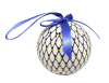 Christmas New Year Tree Decorative Ball Cobalt Net