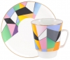 Lomonosov Bone China Cup and Saucer May Motion